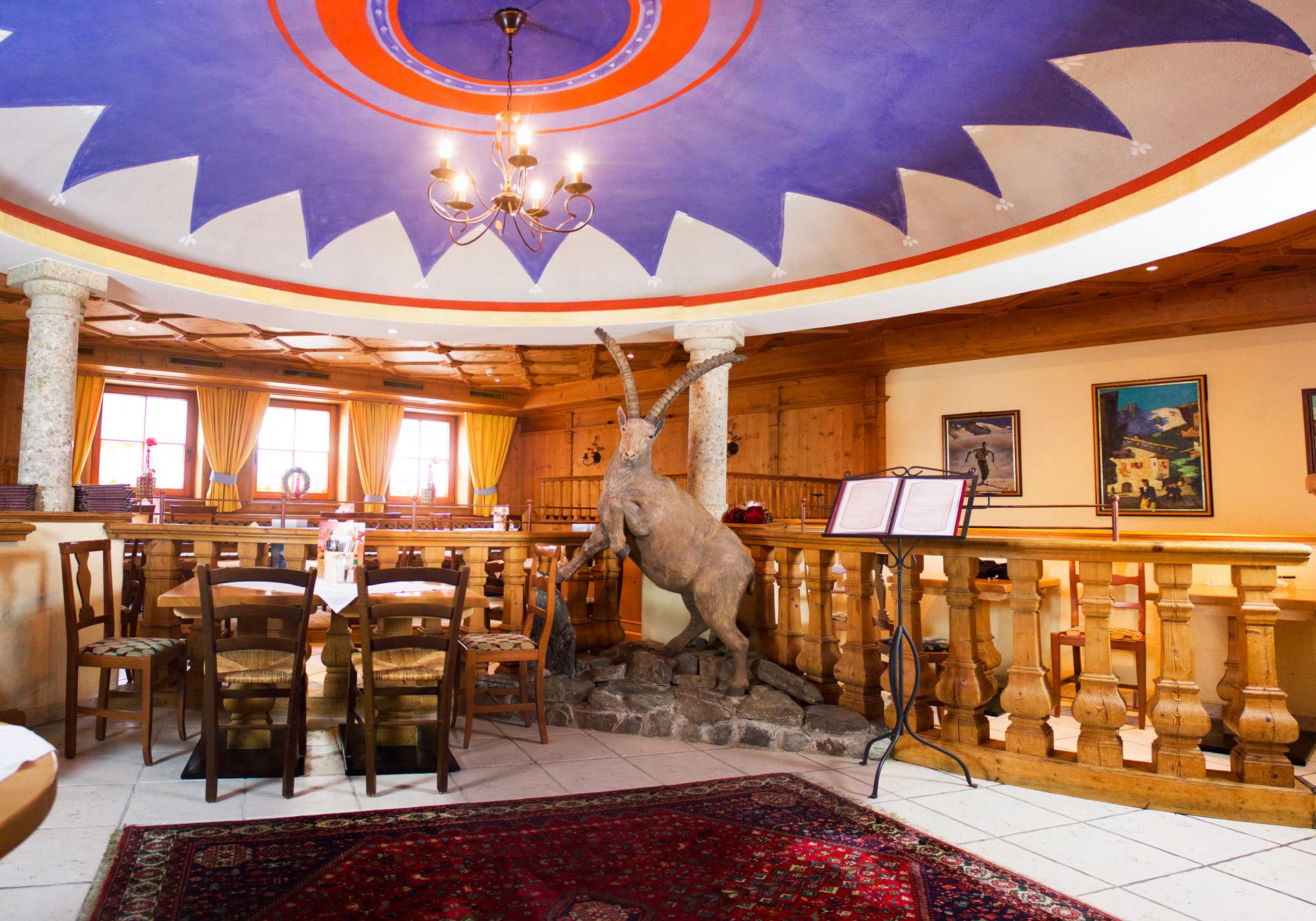 Restaurant Höllboden im Zentrum von Ischgl