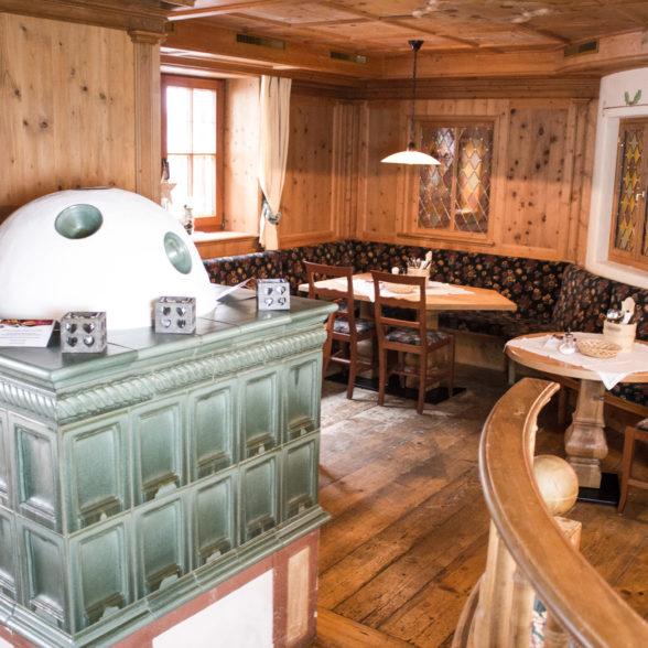 Stube Falkner im Restaurant Pizzeria Ischgl